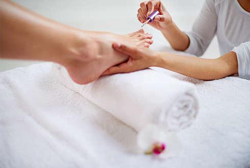 Soin bien-être IdeoSpa Pose Vernis Semi-Permanent pieds